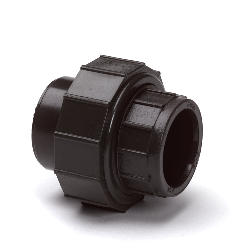 System'O cpvc 3-delige koppeling, 2x inwendig lijm, 32 mm
