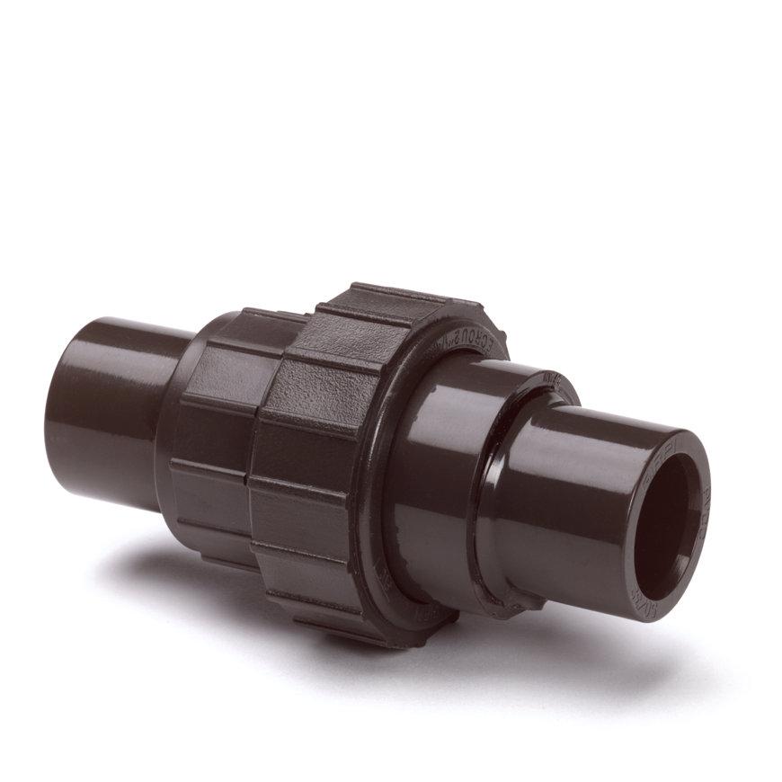 System'O cpvc terugslagklep, 2x uitwendig lijm/1x wartel, 20 mm  default 870x870