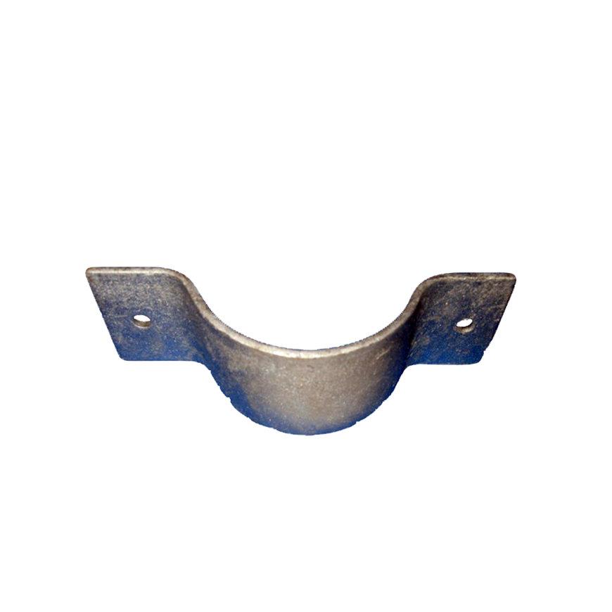 Zadel t.b.v. Humet verzinkte voetsteun, 76 mm  default 870x870