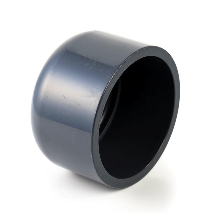 VDL pvc afsluitkap, 16 bar, 1x inwendig lijm, 32 mm