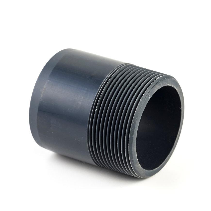 """VDL PVC-Schraubstutzen, handgeformt, Innenverklebungx Außengewinde, 16bar, TypB, 63mmx 2½"""""""