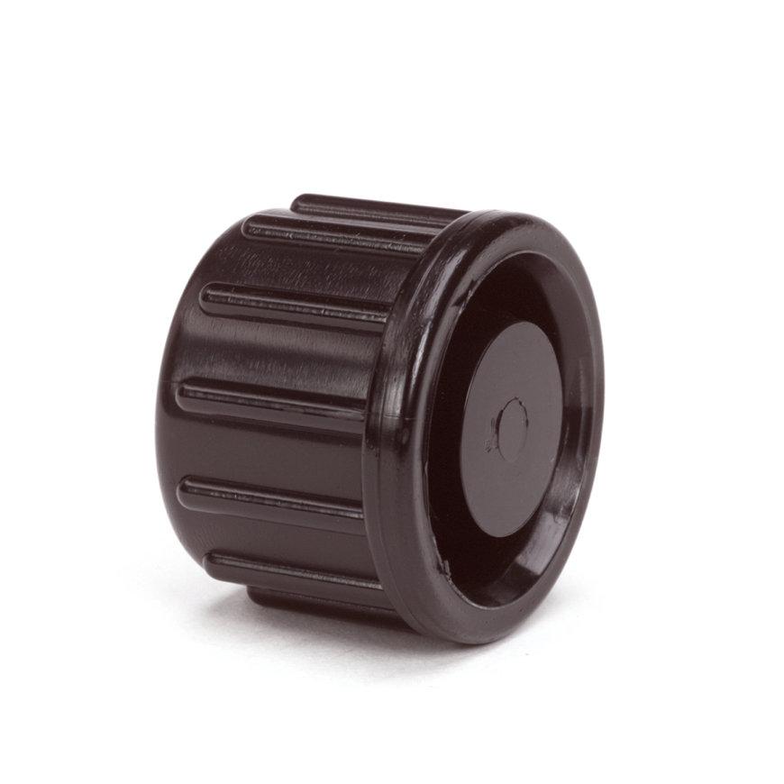 Pp eindkap (klemmend), 25 mm