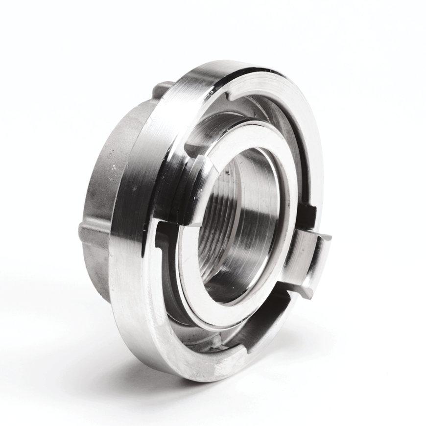 "Storz aluminium koppeling met binnendraad, 31 mm x 1"""