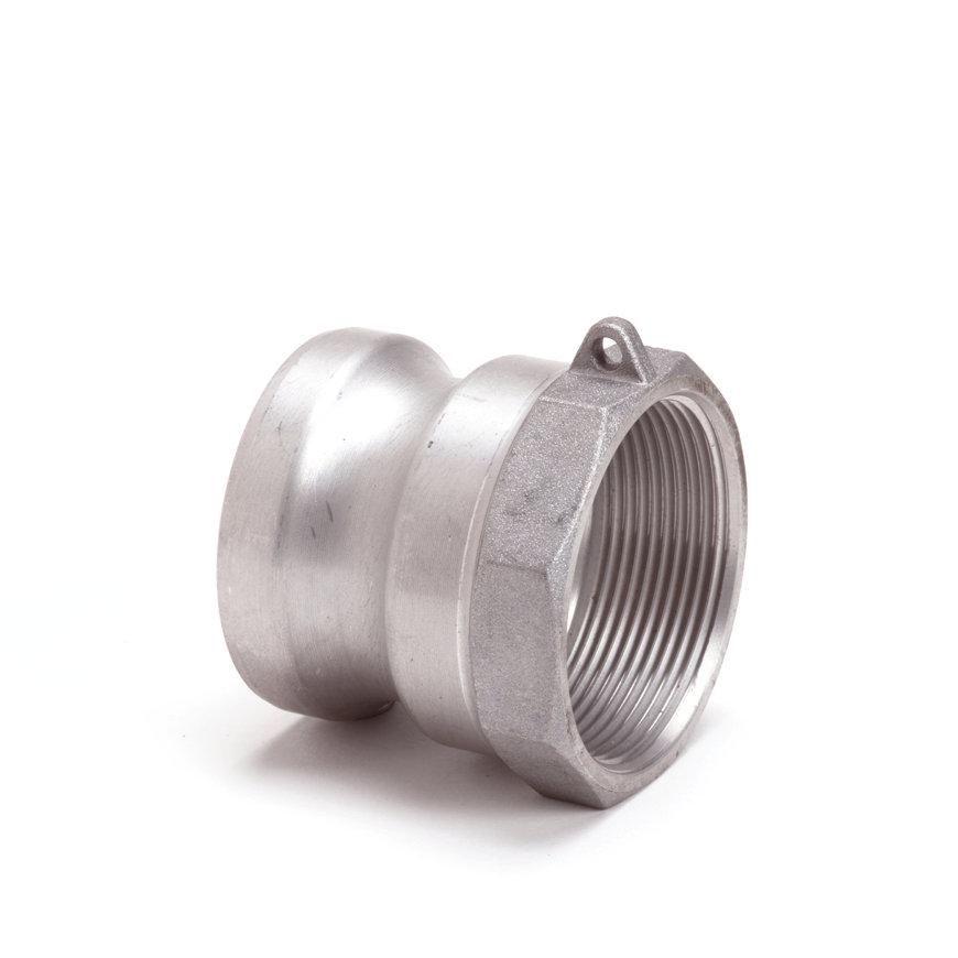 """Camlock M-deel met binnendraad, aluminium, type A, 75 mm x 3""""  default 870x870"""