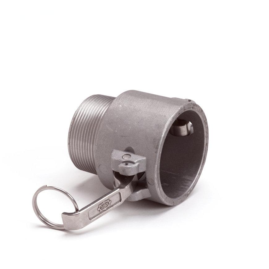 "Camlock V-deel met buitendraad, aluminium, type B, 13 mm x ½""  default 870x870"