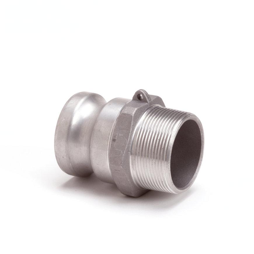 "Camlock M-deel met buitendraad, aluminium, type F, 13 mm x ½"""