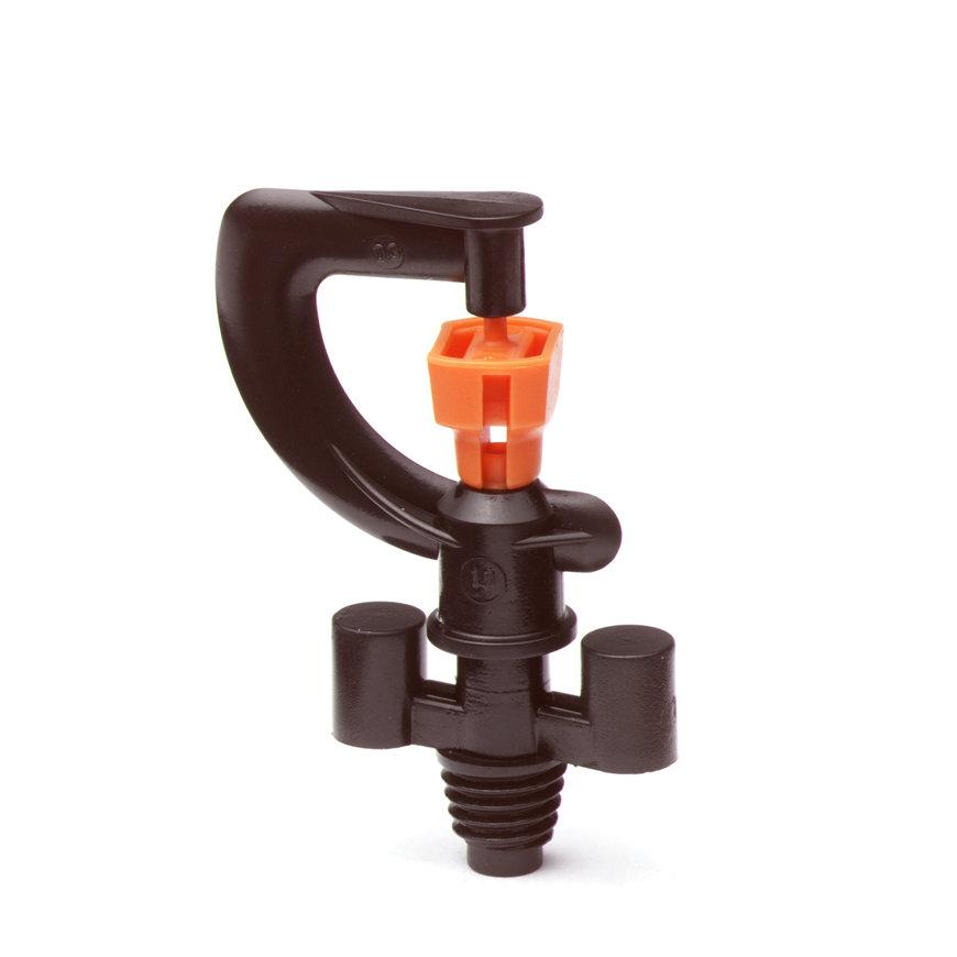 """Dan nevelsproeier, type 8966, aansluiting 3/8"""" W.W. buitendraad, oranje nozzle"""