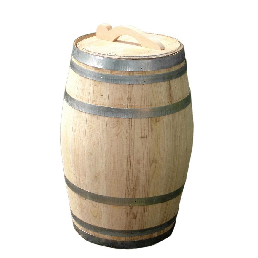Regenton, kastanje, los deksel en handvat, excl. kraan, 100 liter  default 870x870