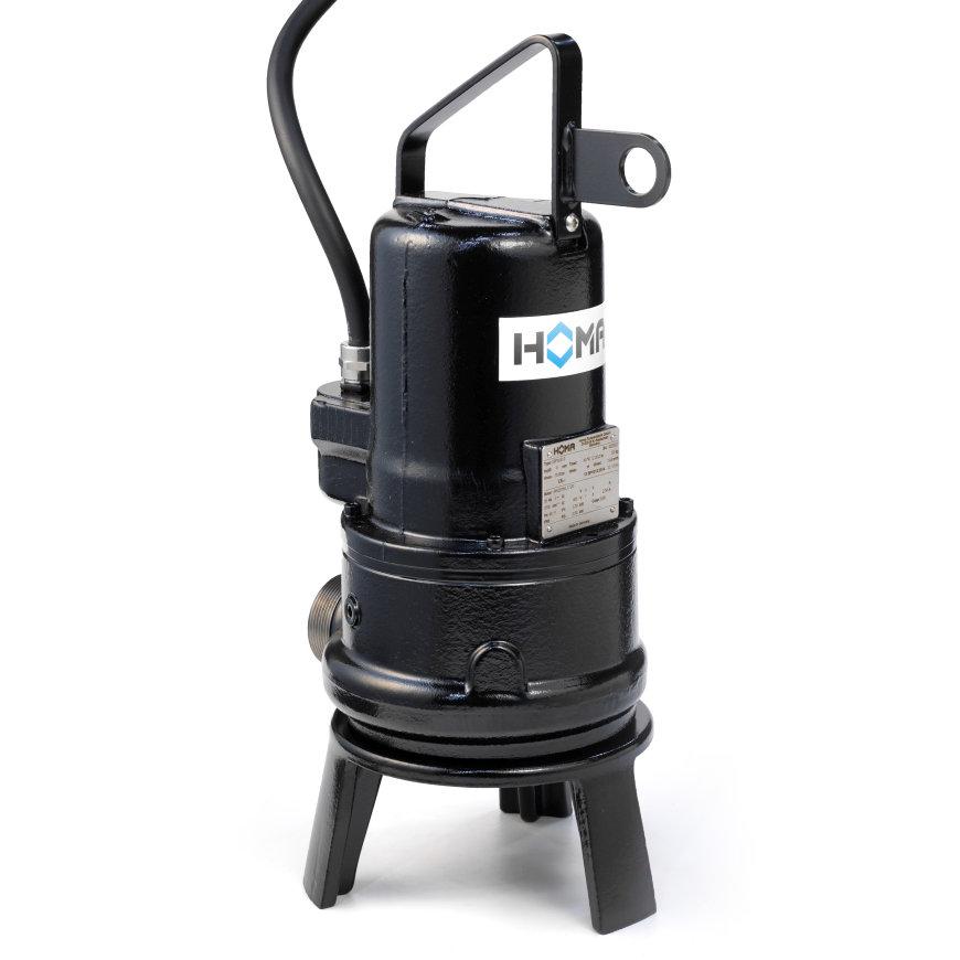 Homa dompelpomp met snijmechanisme voor afvalwater en fecaliën, GRP 26 WA, gietijzer, 230 V
