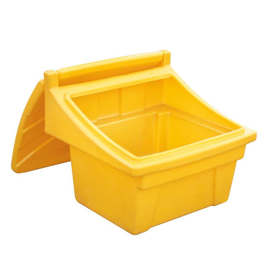 Pe opslagbak, afsluitbaar, 71,5 x 67 x 60,5 cm, inhoud 100 liter
