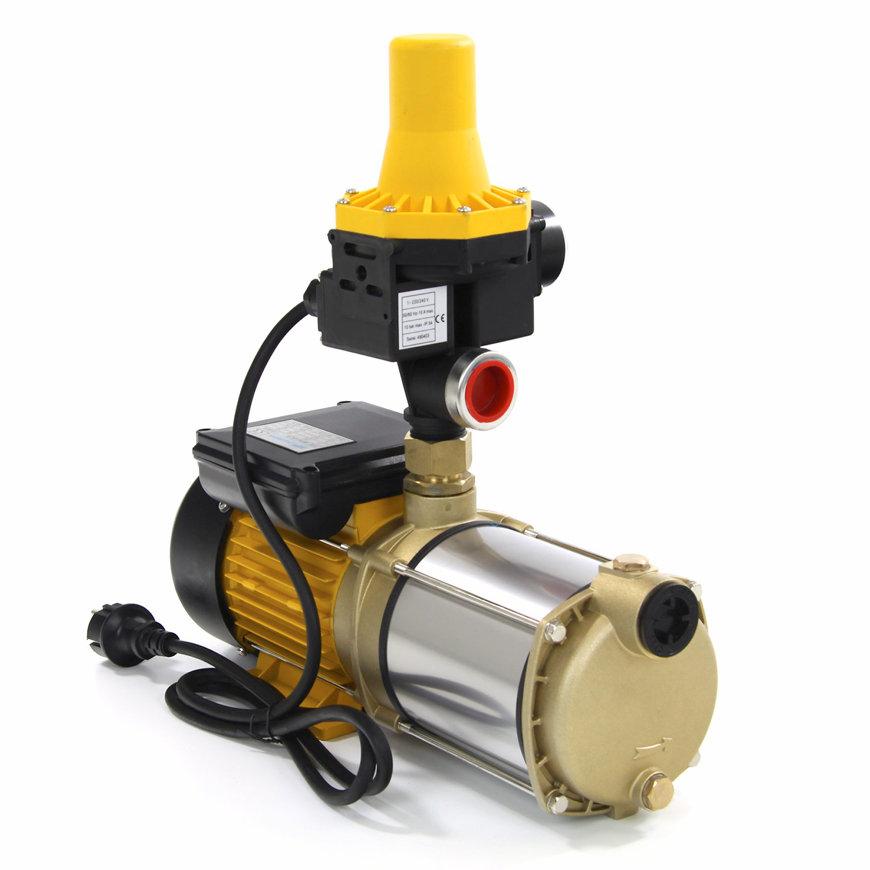 MPI normaalzuigende hydrofoor, Multistage-control, messing/rvs, pompcontrol, type BMP90-4PC  default 870x870