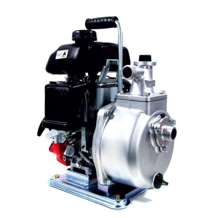 Koshin Honda GXH50 zelfaanzuigende benzine motorpomp, type SEH-25H, schoonwater  default 870x870