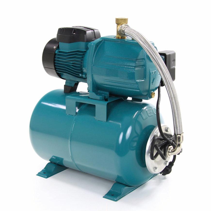 LEO zelfaanzuigende hydrofoor, gy, AJm75, 230 V, 0,75 kW, 24 ltr