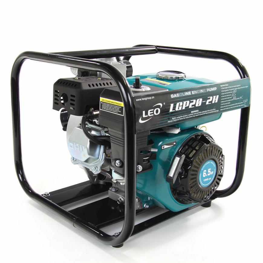 LEO zelfaanzuigende benzine motorpomp, type LGP20H, schoonwater, hoge druk  default 870x870