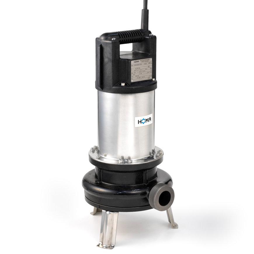 Homa dompelpomp met snijmechanisme voor afvalwater en fecaliën, TGR 15 D, gietijzer, 400 V