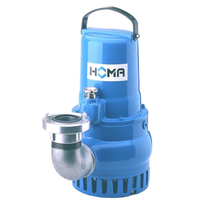 Homa dompelpomp voor schoon- en vuilwater, slijtvast, Storz, H 119 DG EX, gietijzer, 400 V  default 870x870