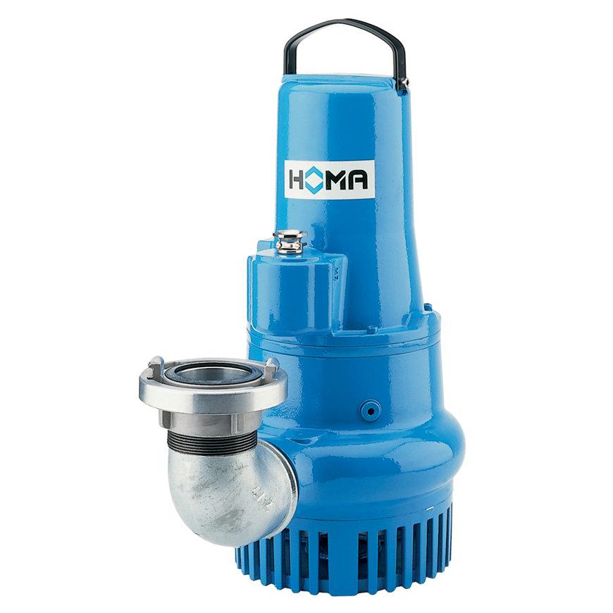 Homa dompelpomp voor schoon- en vuilwater, slijtvast, Storz, H 121 DA EX, gietijzer, 400 V  default 870x870