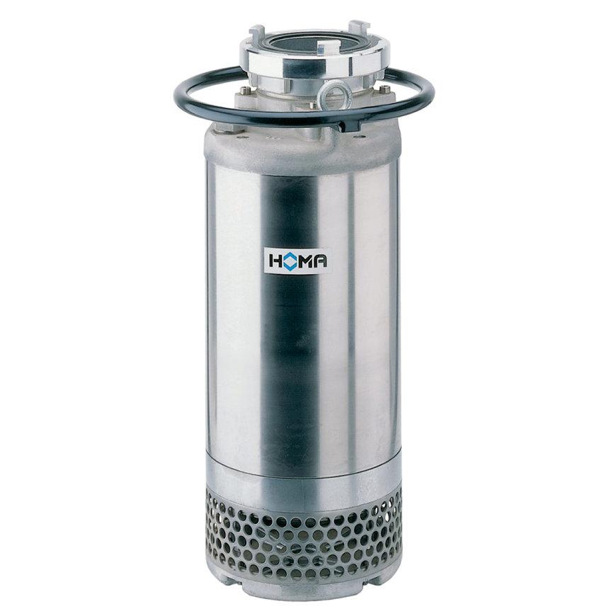 Homa meertraps dompelpomp voor vuilwater, mantelgekoeld, Storz, H 700B/2,5 D, gietijzer, 400 V  default 870x870