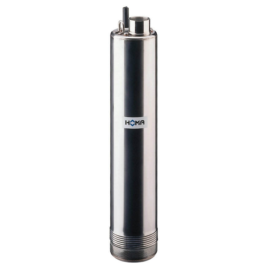 Homa bronpomp/hogedruk dompelpomp voor schoonwater, H 808 W, rvs, 230 V  default 870x870