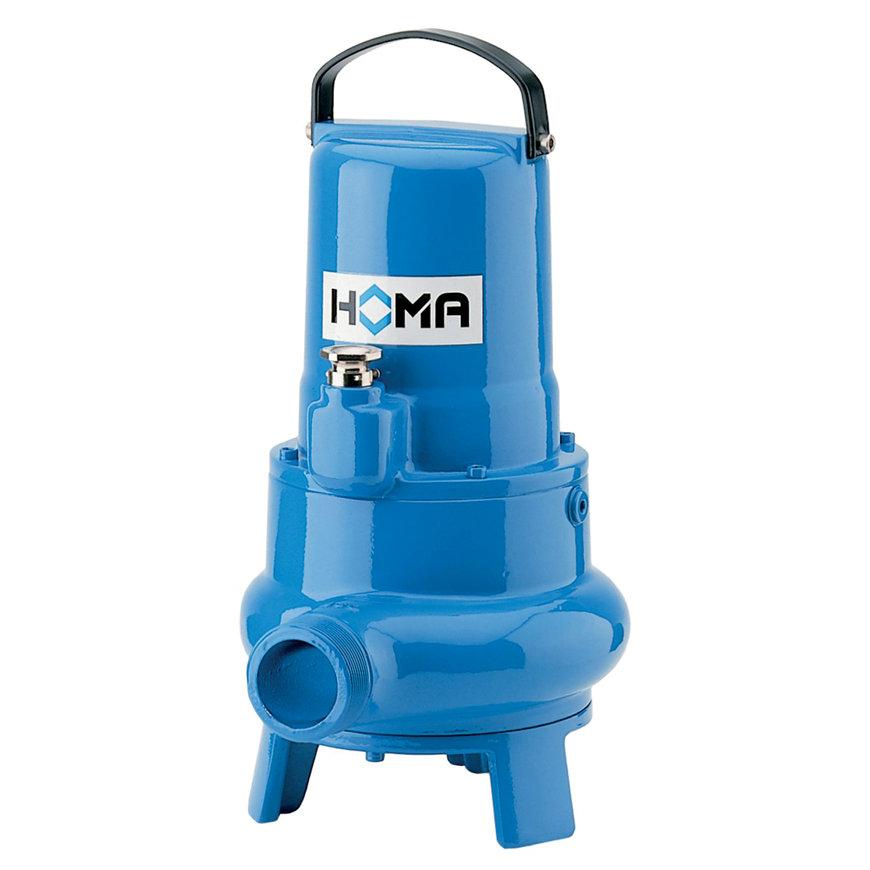 Homa dompelpomp voor vuilwater met vaste stoffen, TP 30 V 17/2 DA, gietijzer, 400 V