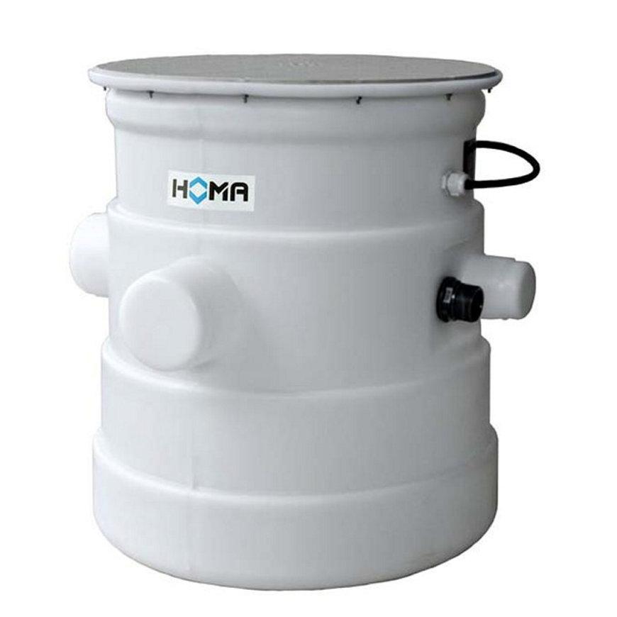 Homa vuilwater opvoerinstallatie met bovengrondse verzamelschacht, Saniquick B - CR 360 VWA, 230 V  default 870x870