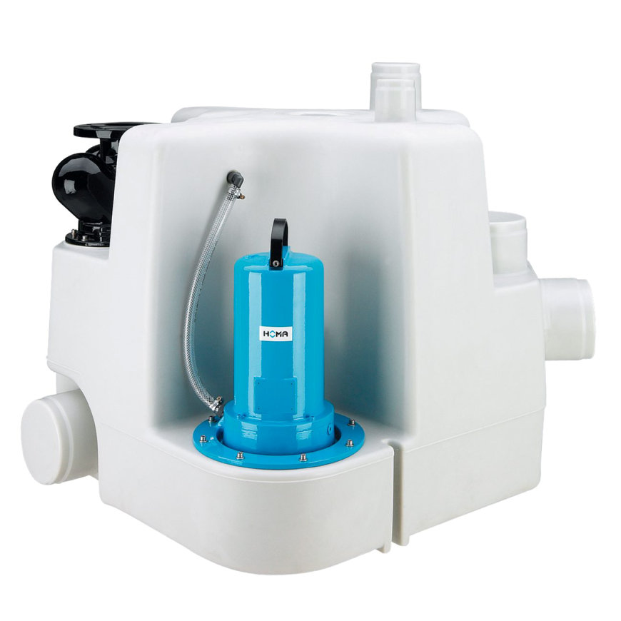 Homa afvalwater opvoerinstallatie, Sanistar PLUS 620 D, 400 V  default 870x870