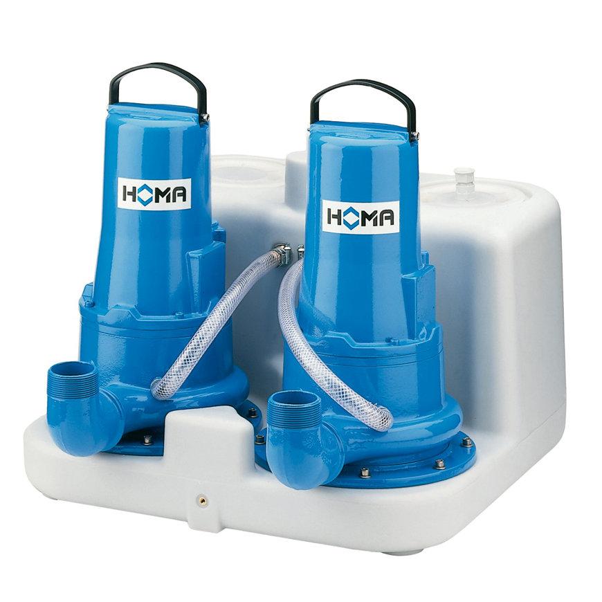 Homa afvalwater opvoerinstallatie, Sanimaster G 180-16 D, 400 V  default 870x870