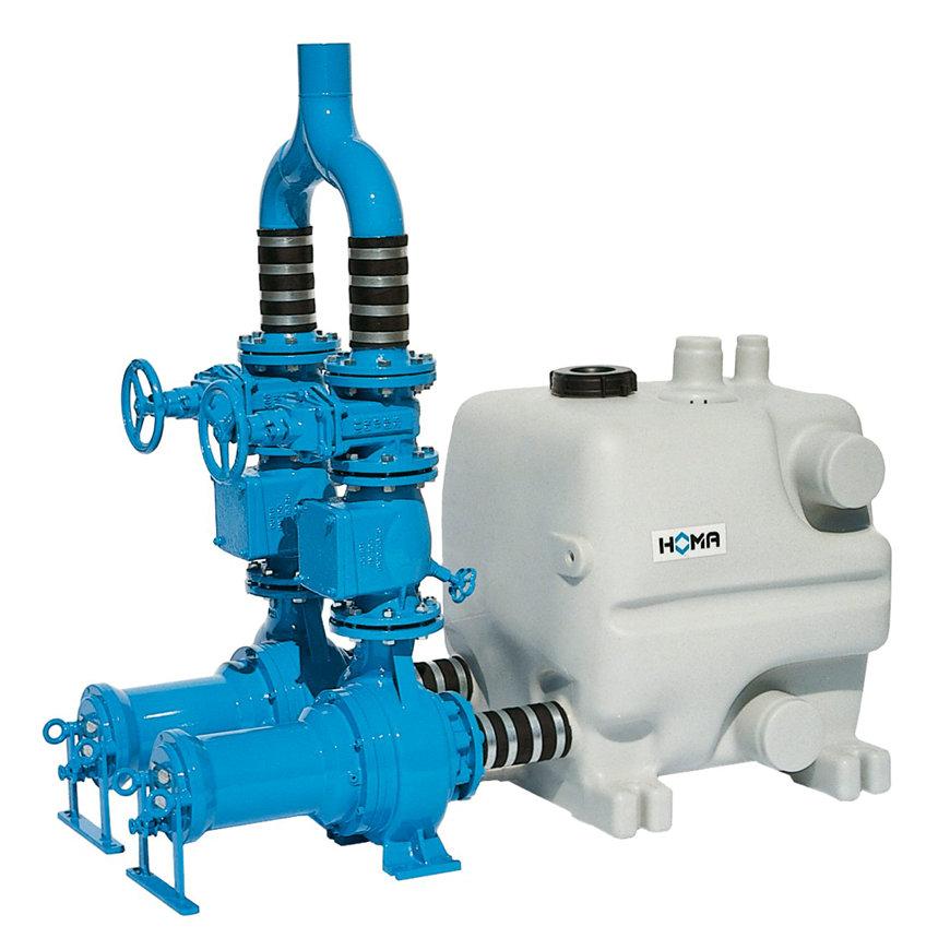 Homa afvalwater opvoerinstallatie, Sanimaster PE40T-TP70V36/2 D, 400 V  default 870x870