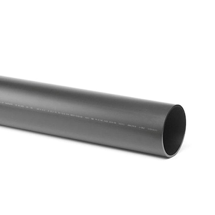 Pe afvoerbuis, getemperd, KOMO, 250 x 9,6 mm, l = 5 m