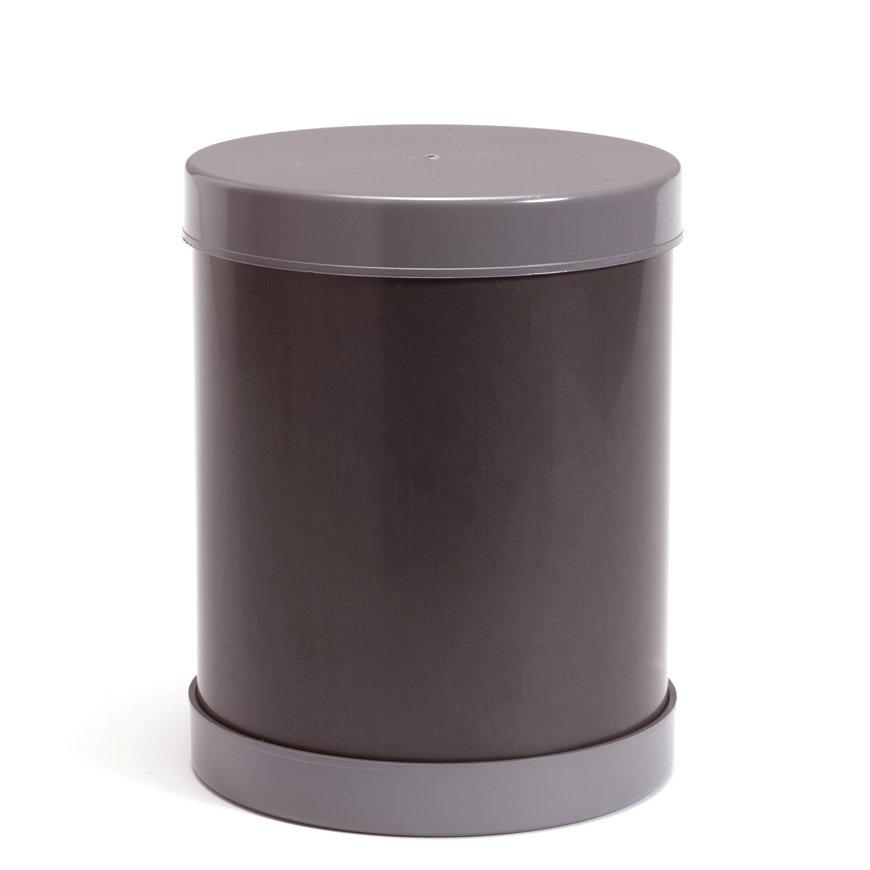 Controleput voor drainagebuis, met bodem en deksel, pvc, h = 50 cm, 315 mm  default 870x870