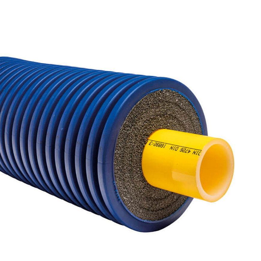 Microflex Uno Primo, geïsoleerde buis, 125/50 x 4,6, cv, 6 bar, type M12550C, rol à 100 m  default 870x870