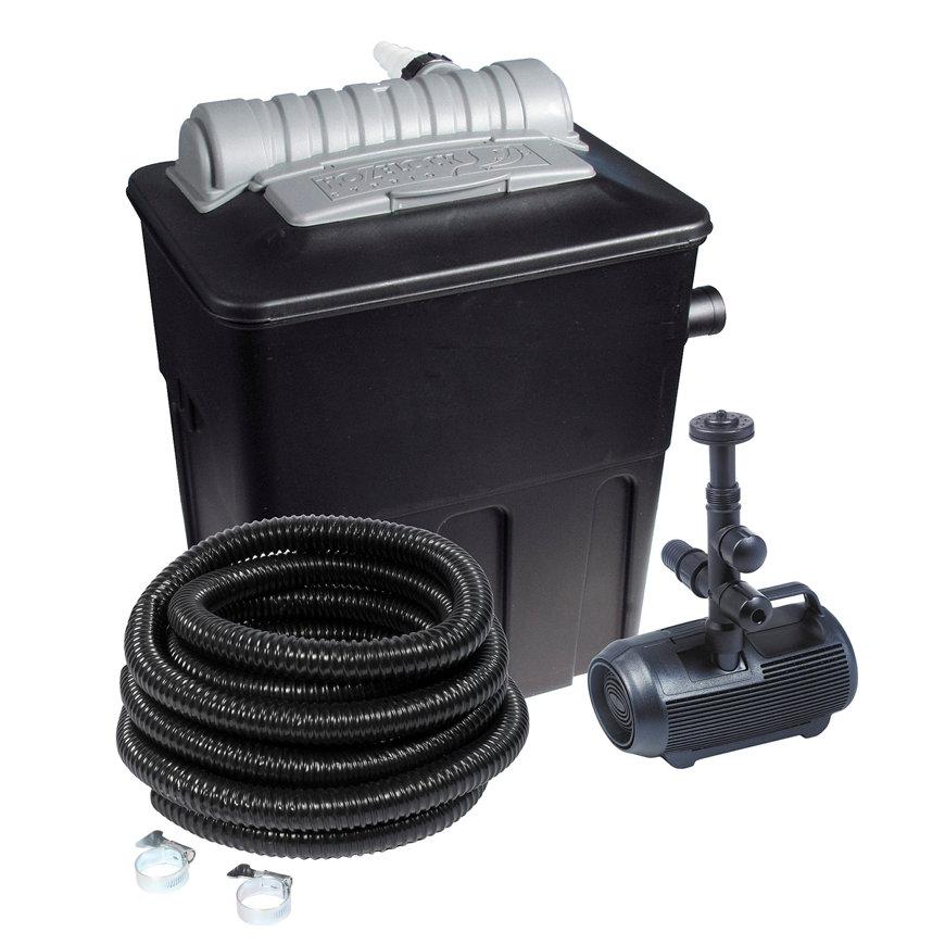 Hozelock doorstroomfilterset, type Ecopower Plus 8000, met Cascade 1500 filterpomp  default 870x870