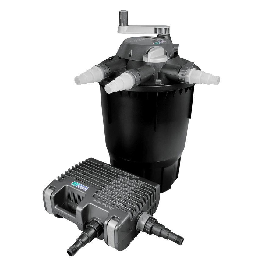 Hozelock drukfilterset, type Bioforce Revolution 28000, met Aquaforce 8000 filterpomp  default 870x870