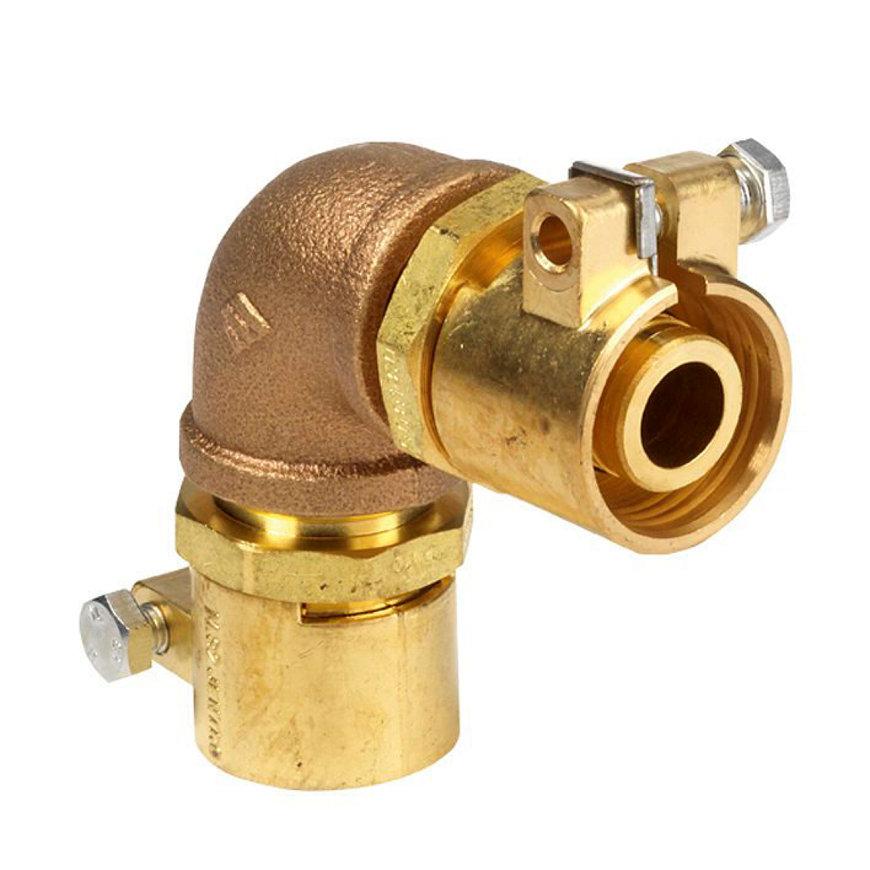 Microflex bocht 90°, PE-X x PE-X, 110 x 10 mm, cv, type MJ90110/10