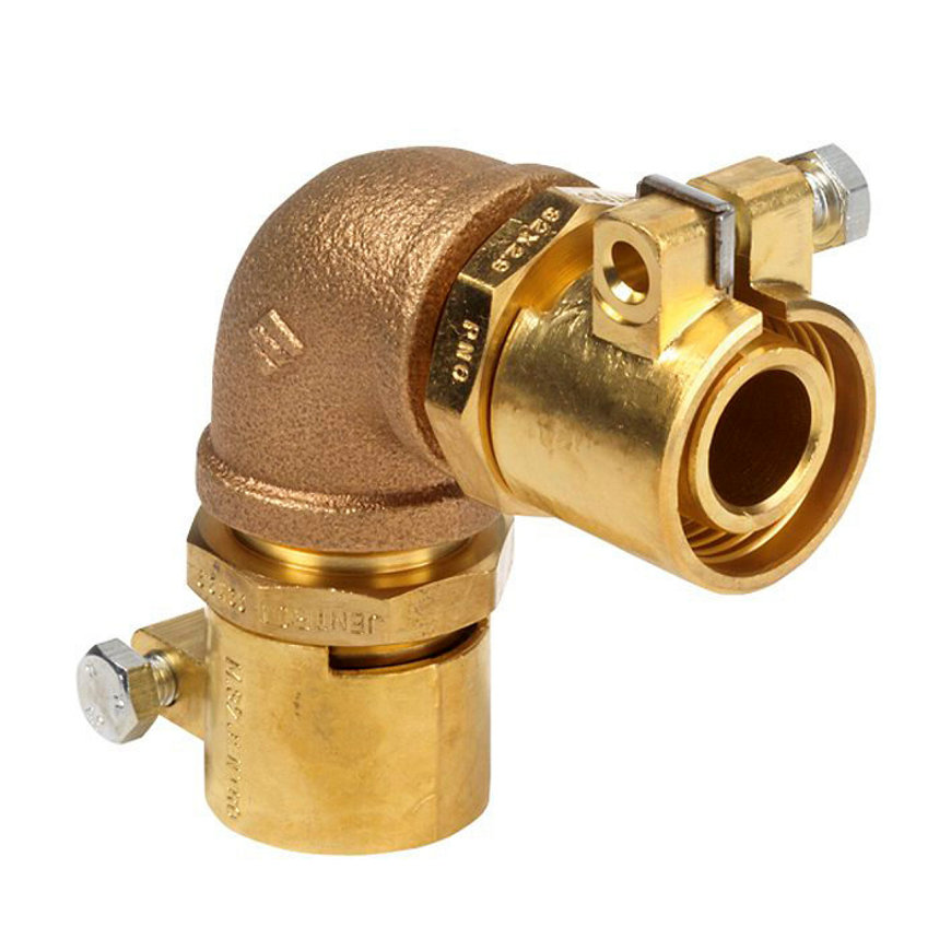 Microflex bocht 90°, PE-X x PE-X, 63 x 8,7 mm, sanitair, type MJ9063/87