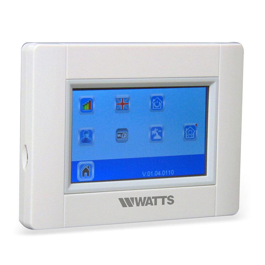 Watts Vision touchscreen unit, met WIFI, type BT-CT02 RF, 868 Mhz  default 870x870