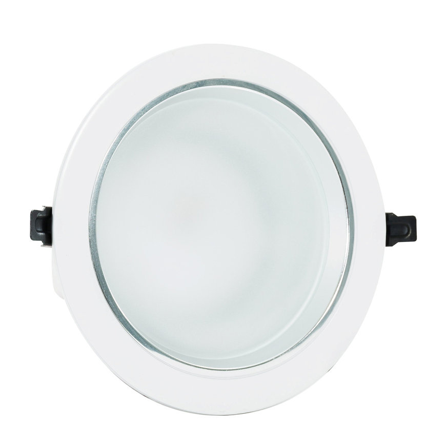 Adurolight® Premium Quality Line Classic led downlight, Agusti, wit, 24 W, 4000 K