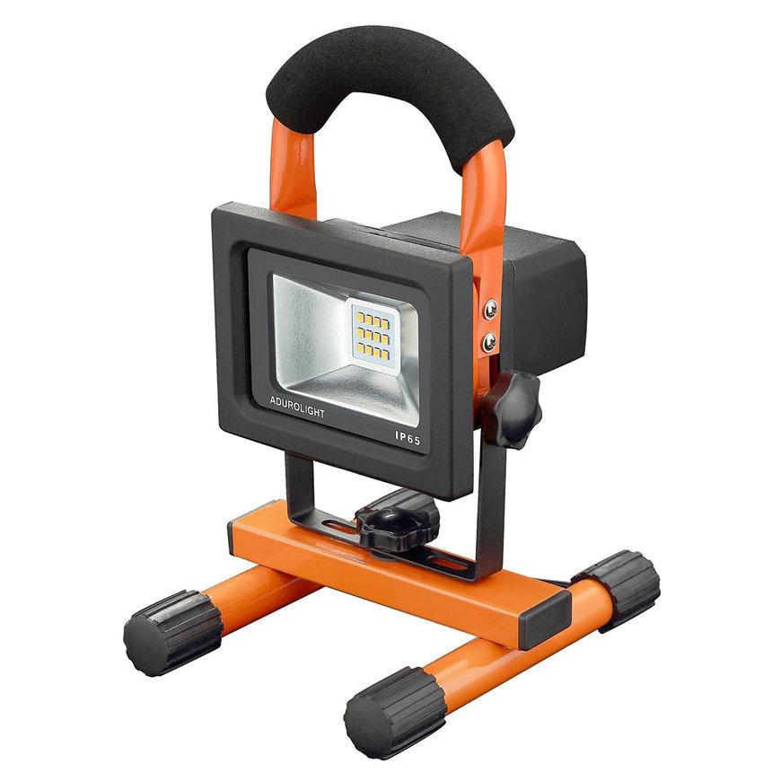 Adurolight® Quality Line led schijnwerper, oplaadbaar, Firmio Charge 10, 10 W, 4000 K  default 870x870