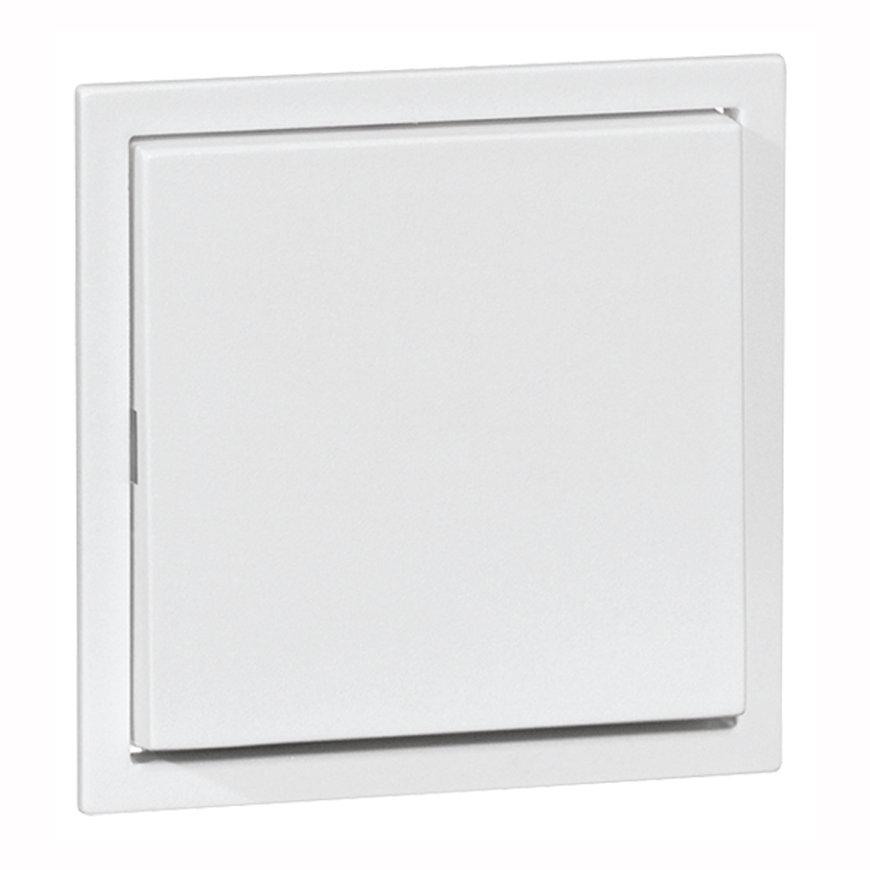Peha Aura klemwip met centraalplaat, voor combinaties, 1-p, hotel, kruis, pulsdrukker, aluminium  default 870x870