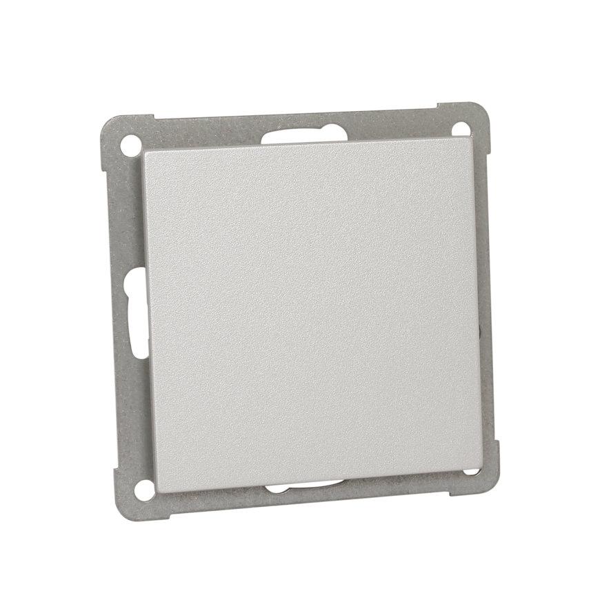 Peha Aura blindplaat met draagframe, aluminium