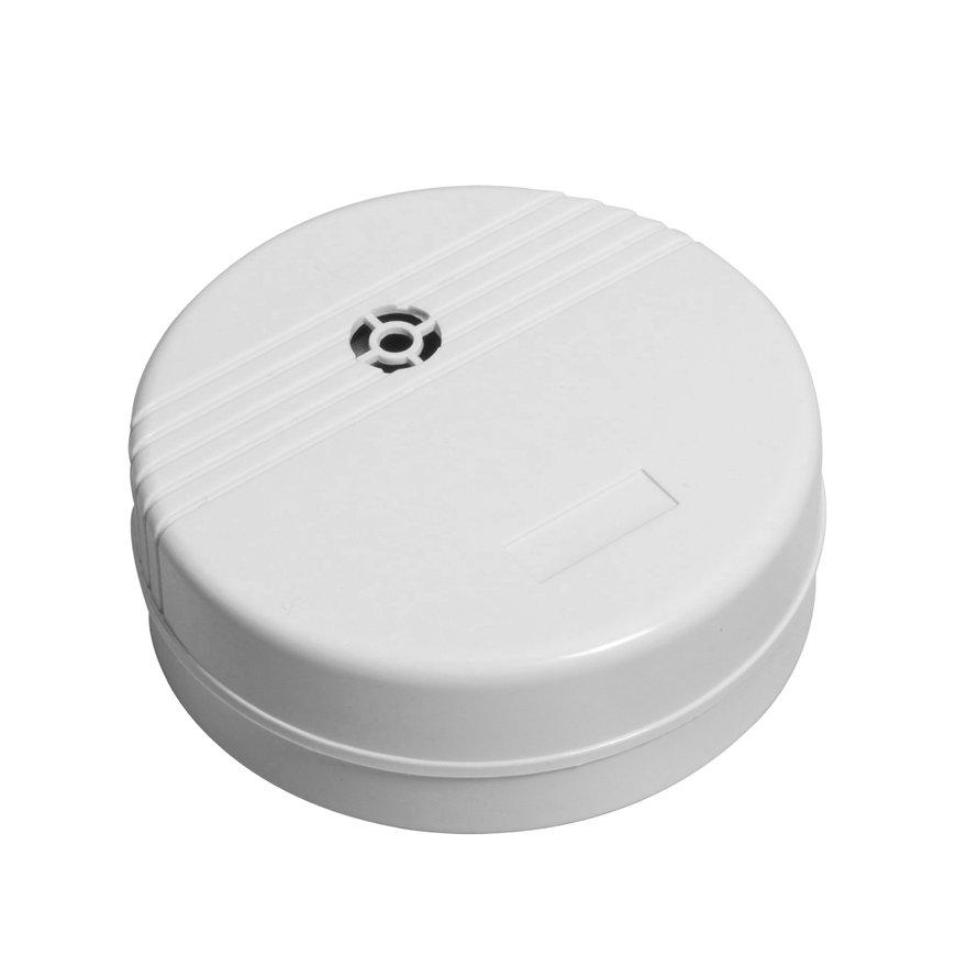 Wateralarm op batterij, rond model, type waterdetect WD-9V-01