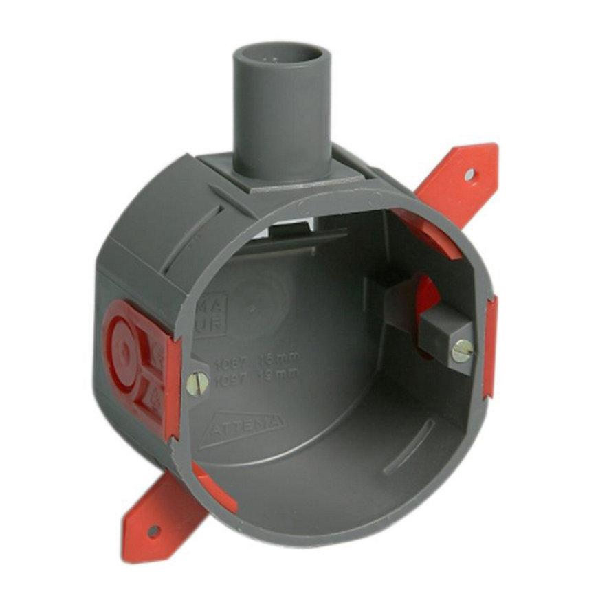 Attema hollewand inbouwdoos, diepte 40 mm, buisdiam. 16 mm, 1 invoer  default 870x870
