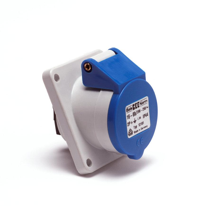CEE inbouw wandcontactdoos, 3-polig, 16 A Type Bals 12181  default 870x870