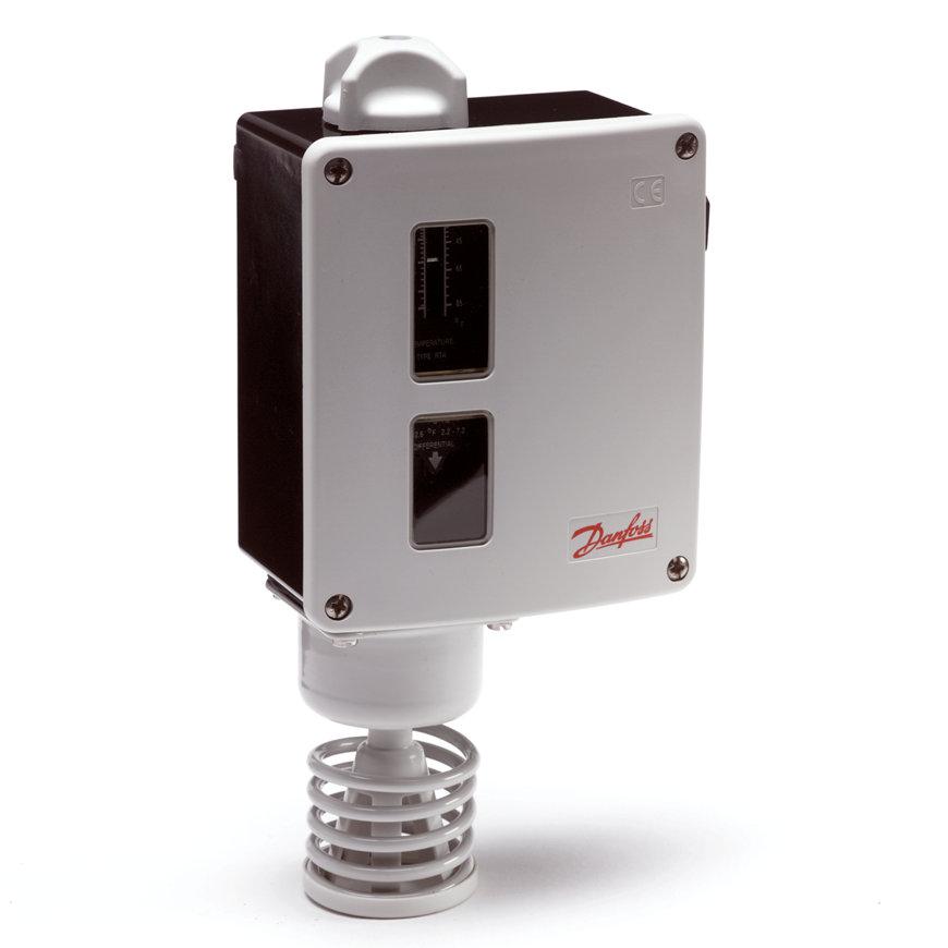 Danfoss thermostaat met ruimtevoeler, type RT115  default 870x870
