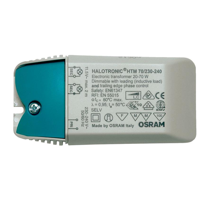 Osram Halotronic, elektronische halogeentransformator, HTM 70/230-240, 20 - 70 W
