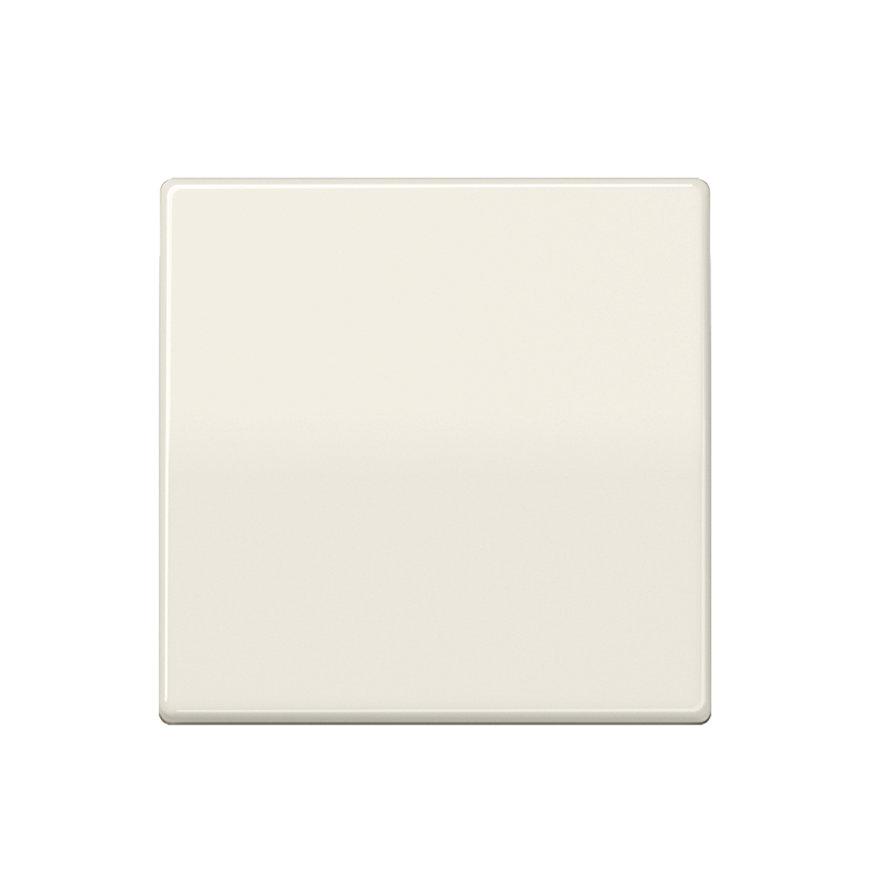 Jung inbouwafdekplaat met enkele schakelwip, alpine wit (uitv. centraalplaat)  default 870x870