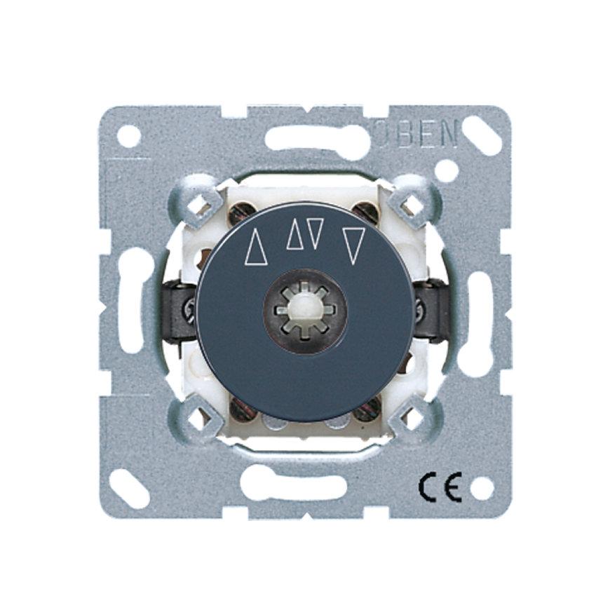 Jung inbouwjaloezieschakelaar impulsgever 10 A - 250 V, 2-polig  default 870x870