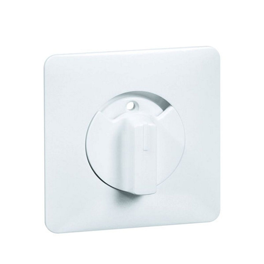 Peha Standard centraalplaat met knop, universeel, jaloezie-, ventilatie-, 3-stand., wit