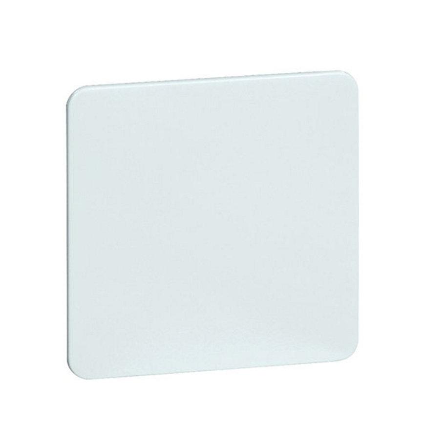 Peha Standard blindplaat met draagframe, wit