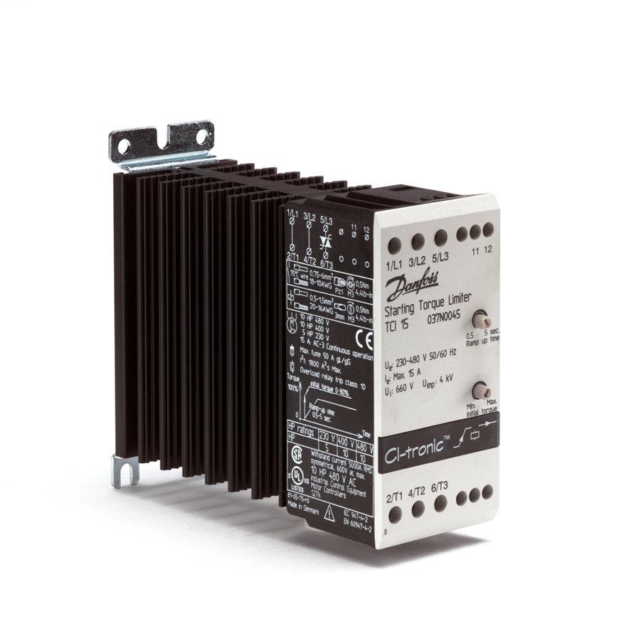 Danfoss CI-tronic elektronische softstarter, type TCI 15